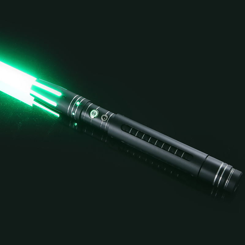 Lightsaber 12 Color Change Metal Sword Detachable RGB Laser Cosplay Dueling Toy Flashing For Kids Gift Creative Light Toys