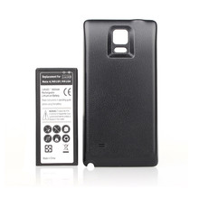 High Capacity 6800mah Phone Battery For Samsung Note IV 4 Note4 N9100 N910F N910H N910 With Back Door Cover Case Guaranteed 100%
