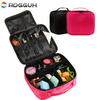 Luxury Brand Cosmetic Bag Professional Makeup Bag Travel Organizer Necessary Make Up Storage Beautician Box Women