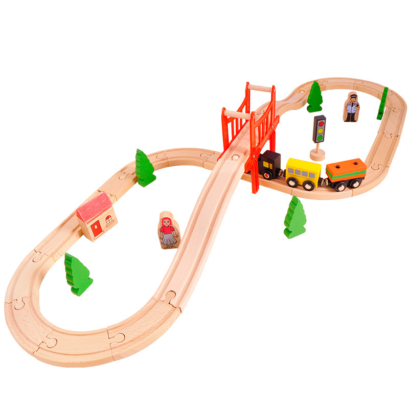 Train Sets Wooden Toys Railway 8 Types Available Wooden Train Track Pack Train Toys Accesaries train brisbane