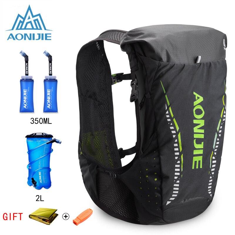 AONIJIE 18L sac à dos d'hydratation léger extérieur sac à dos gilet pour 2L vessie d'eau randonnée Camping course Marathon