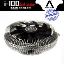 ALSEYE я-100 кулер вентилятор алюминиевый радиатор радиатор 90 мм вентилятор для Intel lga 775/115x и AMD 2000 ОБ./МИН. 12 В вентилятор охлаждения