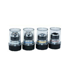 4X 10X 40X 100X Achromatic Objective Lens for Biological Microscope 185(1 Set)