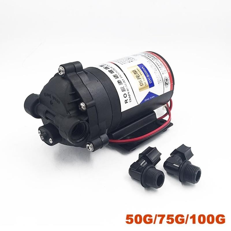 DC 24V Reversible Rotary Diaphragm Pump Self-priming Pump JHONSON 775 Motor Pump