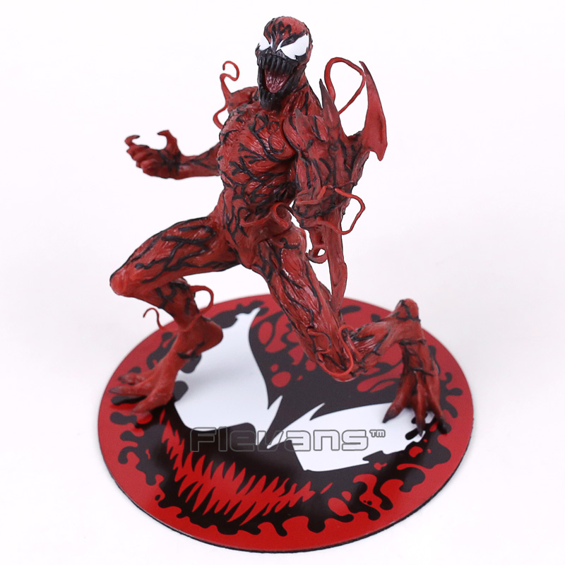 ARTFX + STATUE The Amazing SpiderMan Carnage 1/10 Scale Pre-Painted Figure Collectible Model Toy 18cm artfx statue dc super hero red robin 1 10 scale pre painted figure collectible model toy