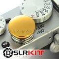 Мягкая Спусковую Кнопку Золото Металл для Leica Contax Fujifilm X100 размер: L