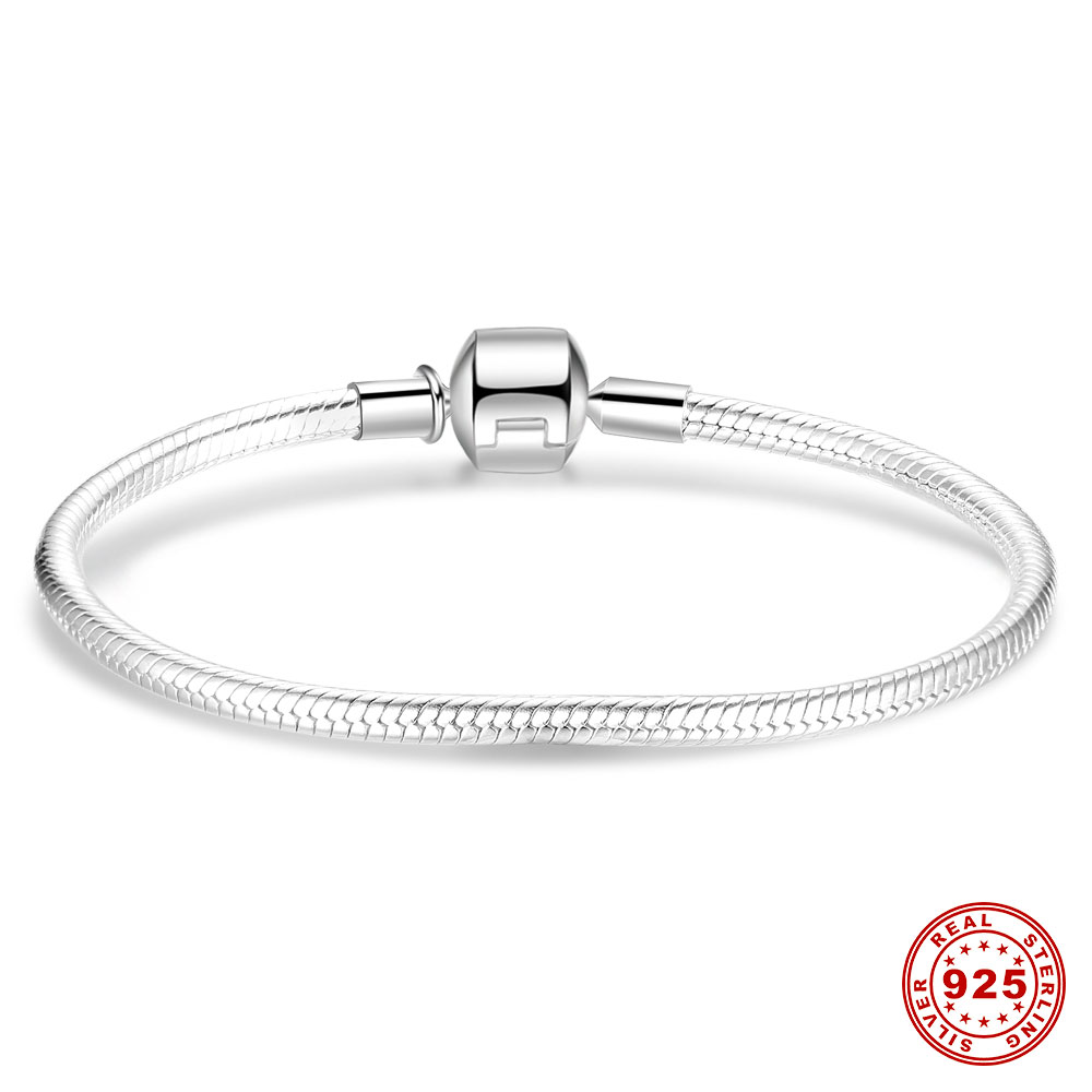 Endless Charms new arrivals authentic 925 Sterling silver base chain bracelets fit unique beautiful charm bead jewelry for women гель д душа dove детокс мицеллярный 250мл