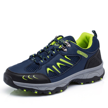 2016 New men outdoor climbing shoes non-slip waterproof men climbing shoes breathable mountain trial trekking shoes men footwear