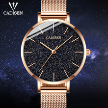 CADISEN 2019 New Women's Watches Luxury Brand Watch Women Fashion Ladies Watch Quartz Wrist Watches For Women Reloj Mujer