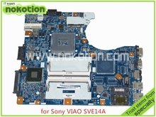 1P-0127500-8010 V111 MB A1898132A Laptop Motherboard For sony viao SVE14A MBX-276 Intel HD4000 Graphics