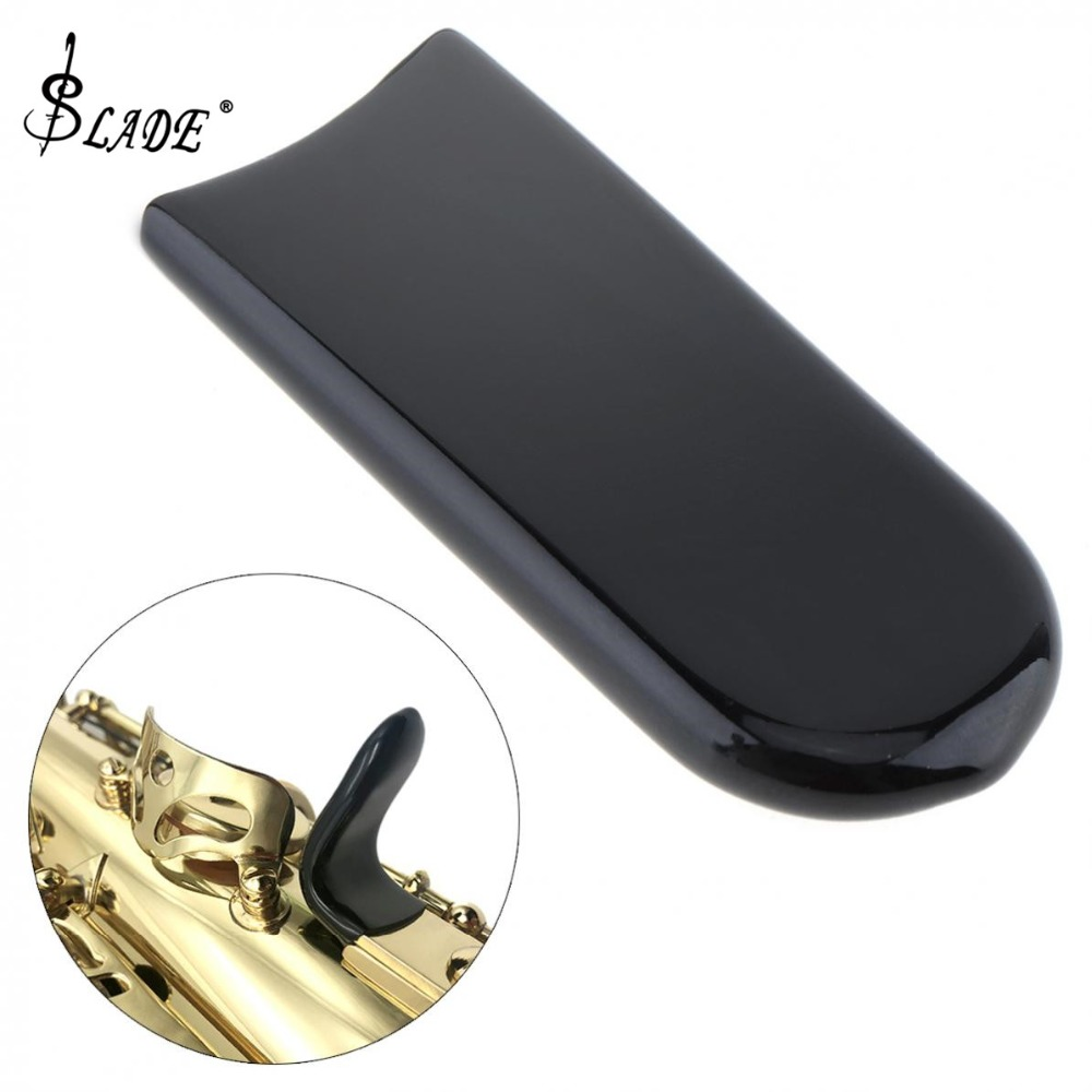 Rubber Saxophone Thumb  Rest Saver Cushion Pad Finger Protector Comfortable For Alto Tenor Soprano Saxophone