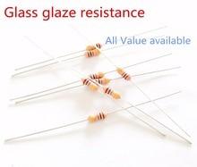 30pcs RI40 1/4W 1G ohm 1000M Glass glaze resistance Thick film resistors 5% 1000M ohm