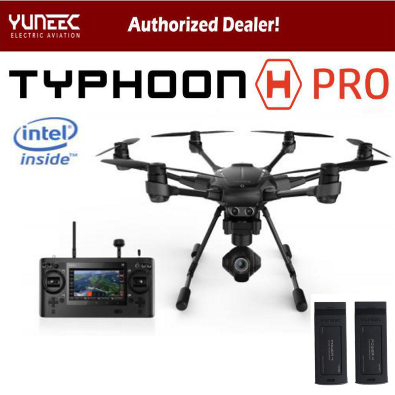 Original Yuneec Typhoon H 480 PRO Drone with Camera HD 4K RC Quadcopter RTF 3-Axis 360 Gimbal vs DJI Inspire 2 Mavic Pro