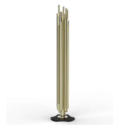 gold delightfull brubeck floor lamp living room stand lamp modern new design hotel stand lamp villa