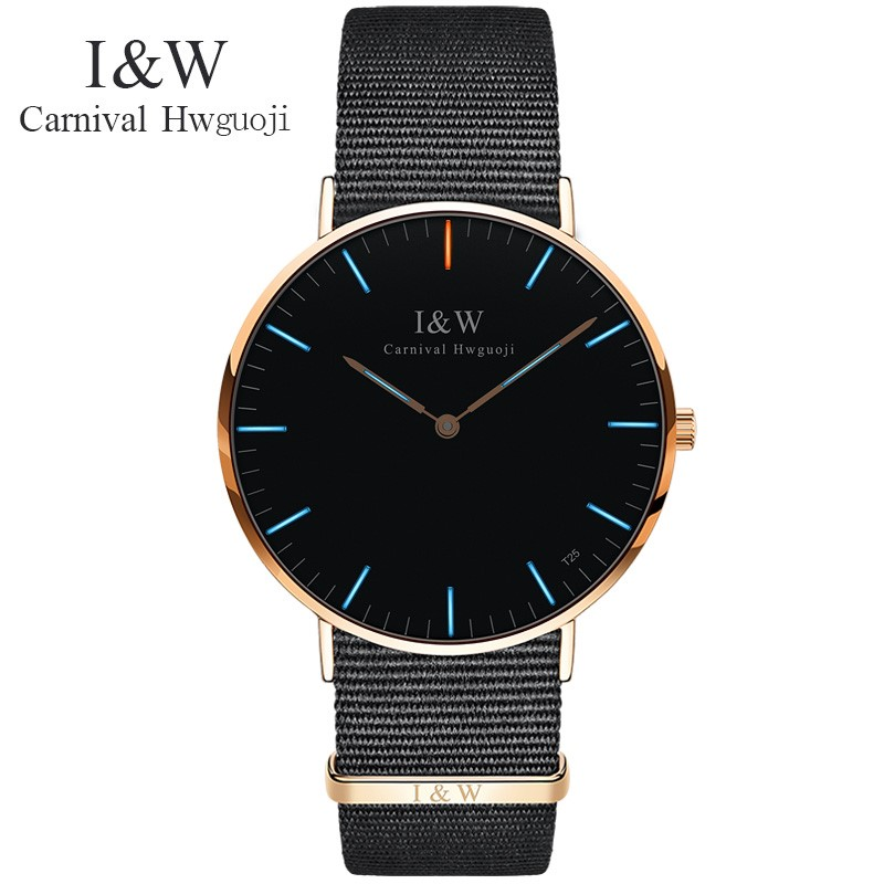 Top brand CARNIVAL Luxury fashion Ultrathin Women watch tritium gas self luminous quartz watch women waterproof Relogio feminino carnival new fashion casual tritium luminous watch women ultrathin quartz watches top brand luxury waterproof relogio feminino