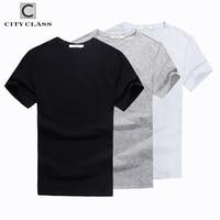 City Class 2017 Mens Summer Solid T Shirt Brand Clothing Cotton Comfortable Male T Shirt Tshirt