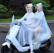 Motorcycle Raincoat Waterproof Women Outdoor Rain Coat Poncho Rainwear Impermeable Motociclista Ladies Coats 50KO130