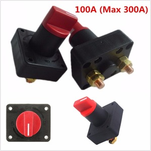 Image 5 - 1 pc 12V Car Truck Boat Camper Battery Isolator Disconnect Cut Off Power Kill Switch Dual Battery Isolator