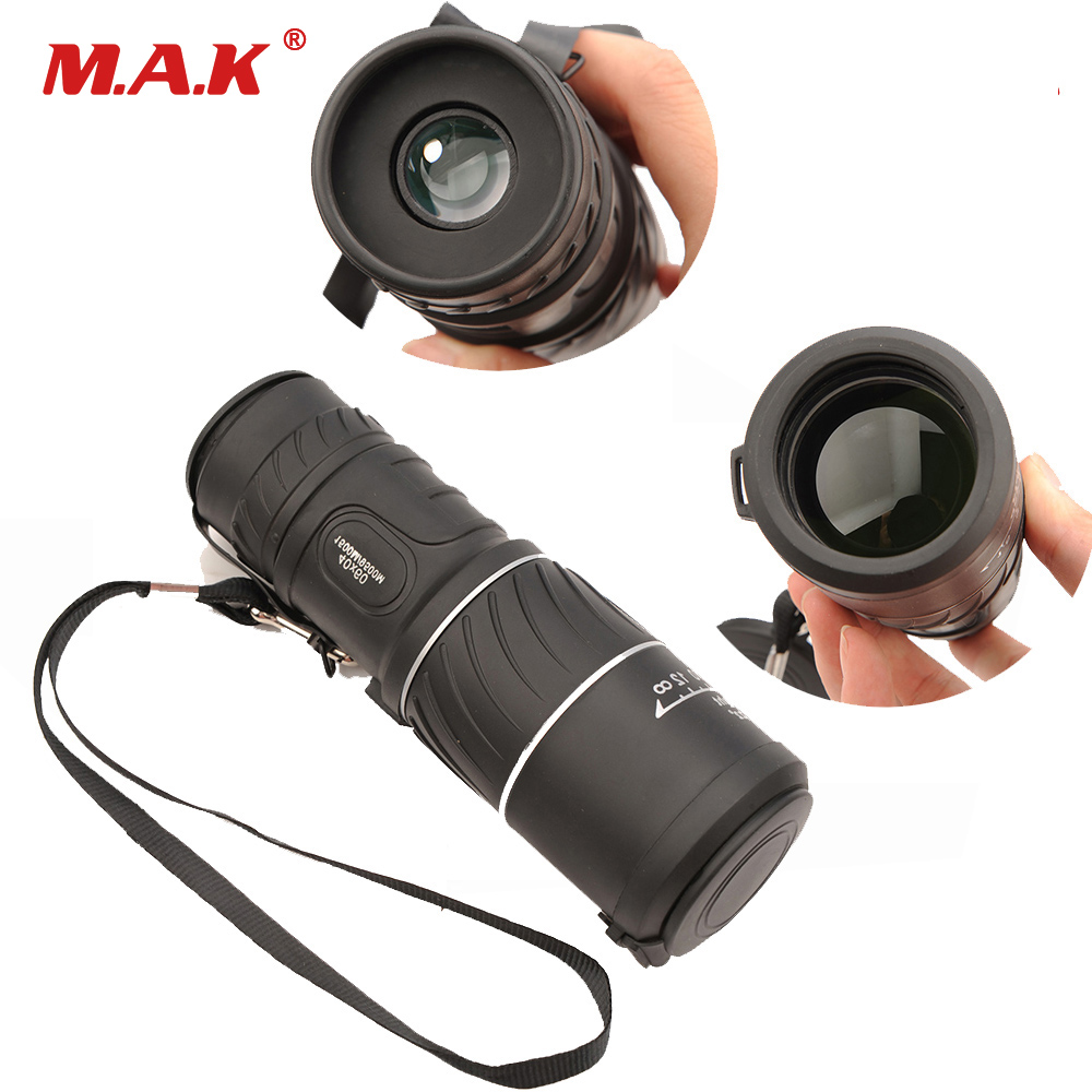 Monocular 40x60 Powerful High Quality Zoom Great Handheld HD Low Light Night Vision Telescope Binoculars
