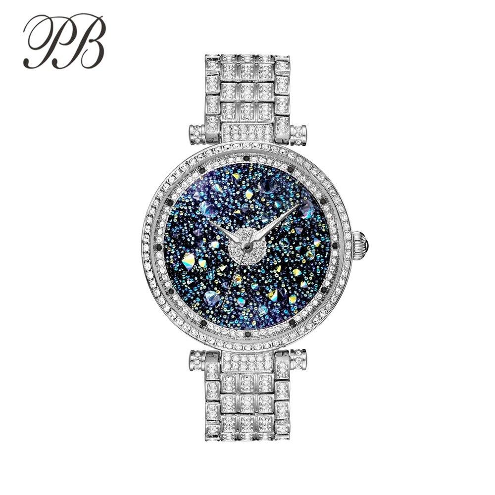 PB Πριγκίπισσα μόδας πεταλούδα μόδας - Γυναικεία ρολόγια - Φωτογραφία 1