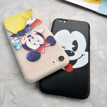 Cartoon Stitch Mickey Minions Soft Case For iphone 5s SE 6 6s plus 7 8 Plus X