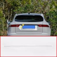 Stainless Steel For Jaguar E Pace EPACE Car Chrome Exterior Tail Door Decoration Strip Trim Accessories