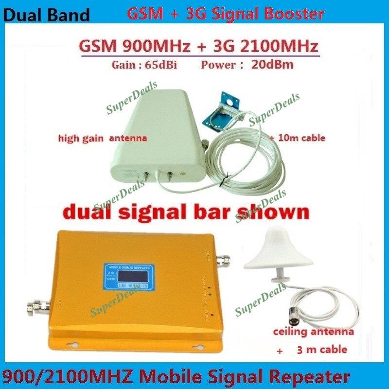 Full Set GSM 3G Cellular font b Signal b font Repeater GSM 900 3G UMTS 2100