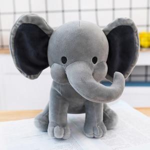 Image 3 - 25cm Bedtime Originals Choo Choo Express Plush Toys Elephant Humphrey Soft Stuffed Plush Animal Doll for Kids Birthday Gift