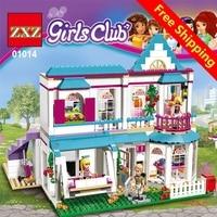 LMKJ 01014 01042 Genuine Good Friend Girls Series The Stephanie S House Set Building Blocks Bricks