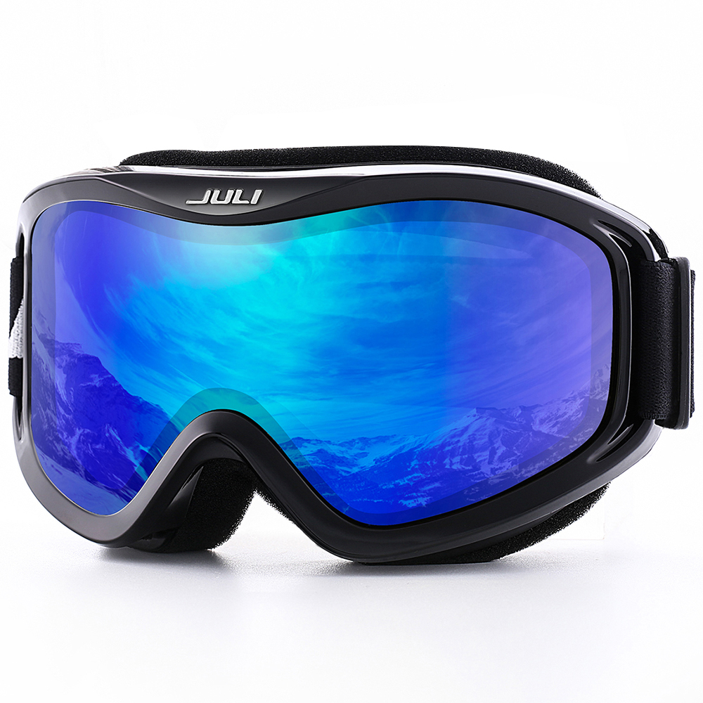 Snow Snowboard Over Glasses Ski Goggles for Men Women Youth 100 UV Protection Anti fog Dual