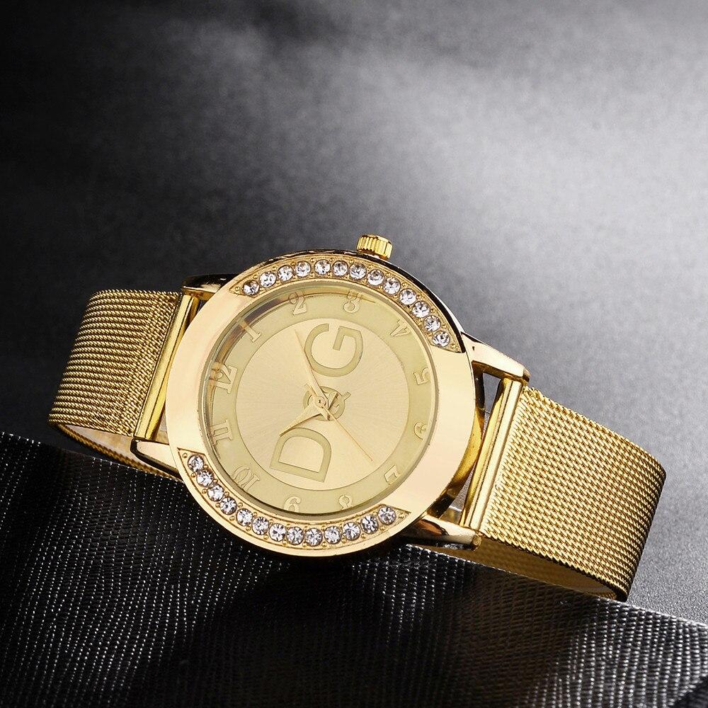 simple-fashion-lady-mesh-strap-watch-rhinestone-case-watch-pure-color-strap-stainless-steel-zegarki-damskie-quartz-wristwatches