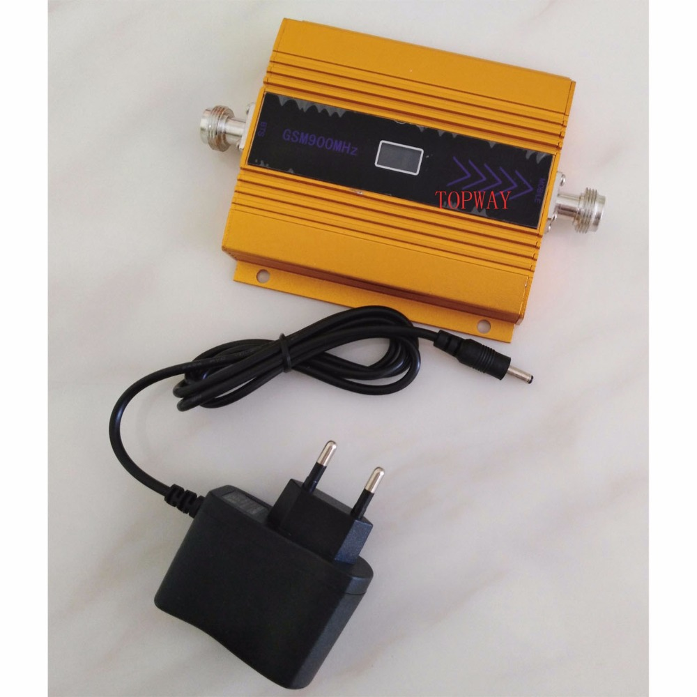 mini GSM repeater mobile gsm signal booster 900mhz GSM signal amplifier with LCD display power adapter