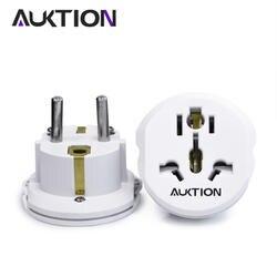 AUKTION 16A универсальный ЕС (Европа) адаптер конвертер 250 в зарядное устройство переменного тока для путешествий стены мощность адаптер вилка