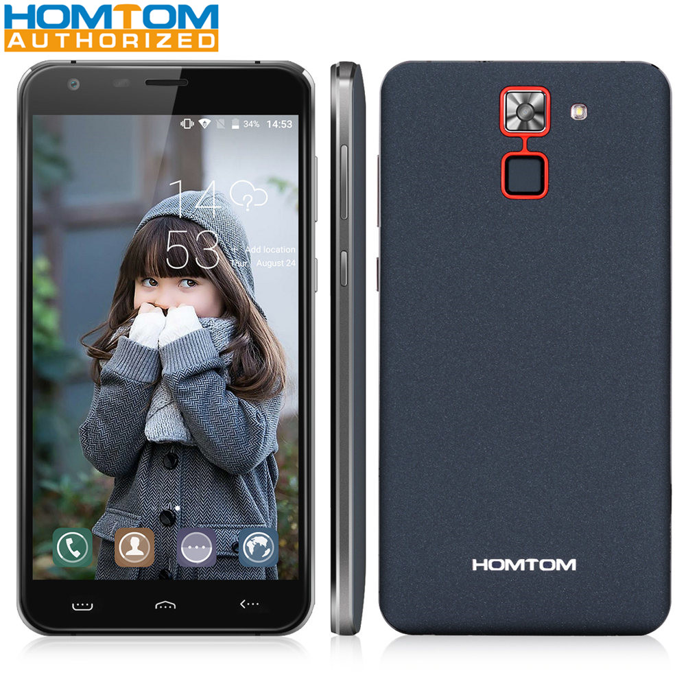 HOMTOM HT30 Pro 4G Smartphone Android 7.0 MTK6737 Quad Core Mobile Phone 5.5 Inch Screen 3GB RAM 32GB ROM 3000mAh Battery