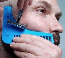 1pc Beard Trimmers razor blade tool Hair Beard Shaping Styling Man Gentleman Beard Trim Template hair cut molding Hair clipper