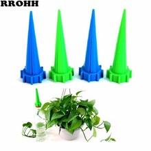 10 pçs/set Instalado Prático Aspersores de rega Automático de Rega de Spike Planta Flor Waterers Garrafa Sistema de Irrigação Do Jardim