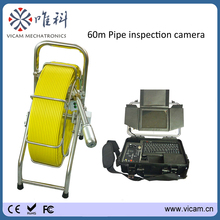 Vicam Sewer Pipe Camera Manufacturer Waterproof Drain Video Plumbing Inspection Camera System With Monitor V