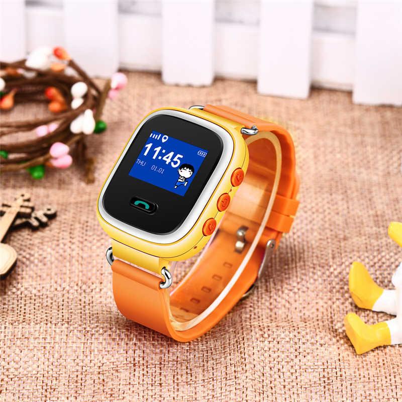 เด็ก LBS ตำแหน่ง SOS ฉุกเฉินเด็กความปลอดภัย Anti-lost สมาร์ทนาฬิกาการตรวจสอบระยะไกล Tracker สำหรับ Android IOS