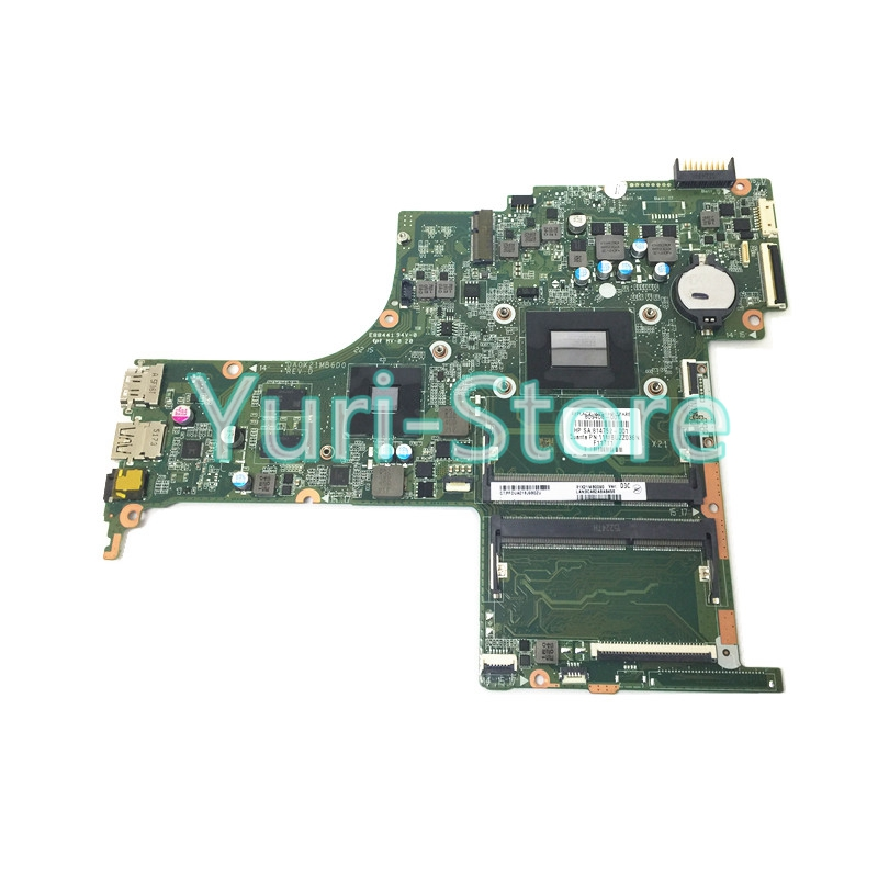 NOKOTION 814752-001 for HP Pavilion Notebook 17-G DA0X21MB6D0 809408-001 series motherboard M360 2GB A10-8700P CPU 100% test nokotion sps v000198120 for toshiba satellite a500 a505 motherboard intel gm45 ddr2 6050a2323101 mb a01