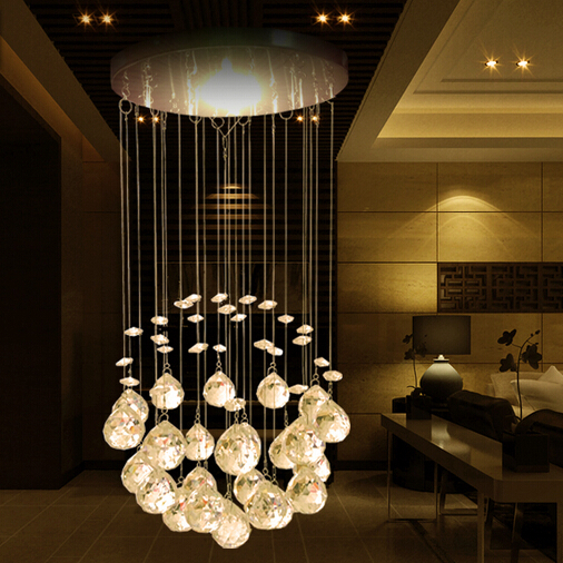 Modern Chandeliers,Crystal Pendant Lamp First-Level K9 Crystal Chandelier For Living Room (5W LED bulb Is Available) 5 models loft modern crystal chandelier light for dining room led k9 crystal chandeliers lamp crystal e14 pendant lamp lighting wpl193