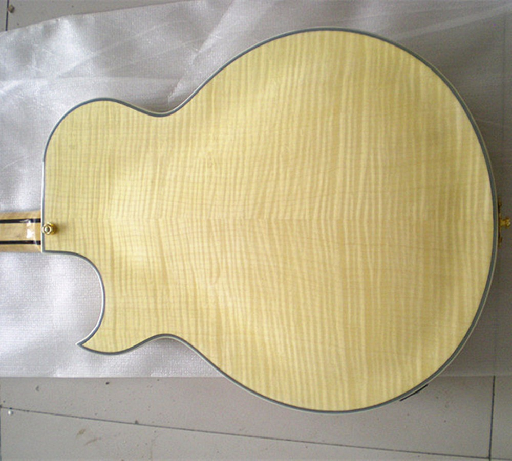 free shipping new hollow F hole electric guitar in natural color with big rocker for jazz music made in China mahogany body 266 1pc 7 4v 1000mah li po battery for wltoys v262 v333 v353 v912 v915 ft007 devo4 mjx x600 rc helicopter hot sale