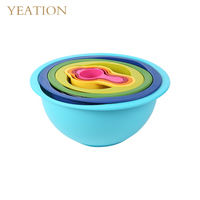 YEATION Home Multi use 8PCS Bakeware Sets PP Colorful Kitchen Tools