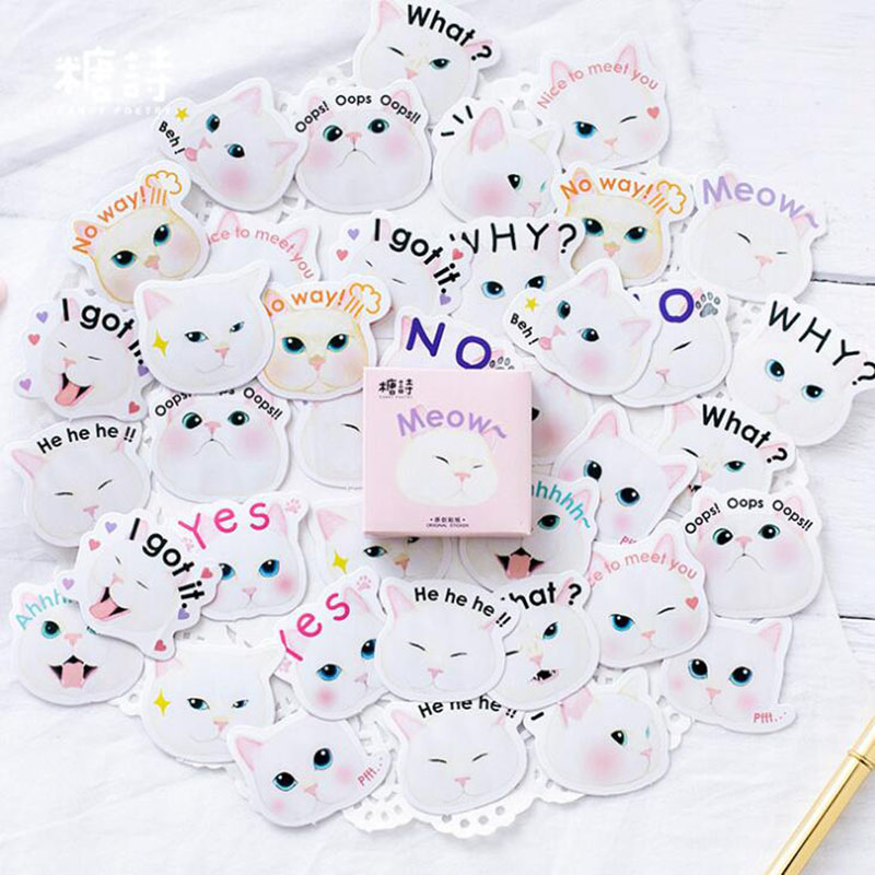 Responsible Mini Kawaii Cute Cartoon Animals Panda Cat Penguin Finger Unicorn Memo Pad Decorative Diary Sticker Stationery School Supplies Products Hot Sale Memo Pads
