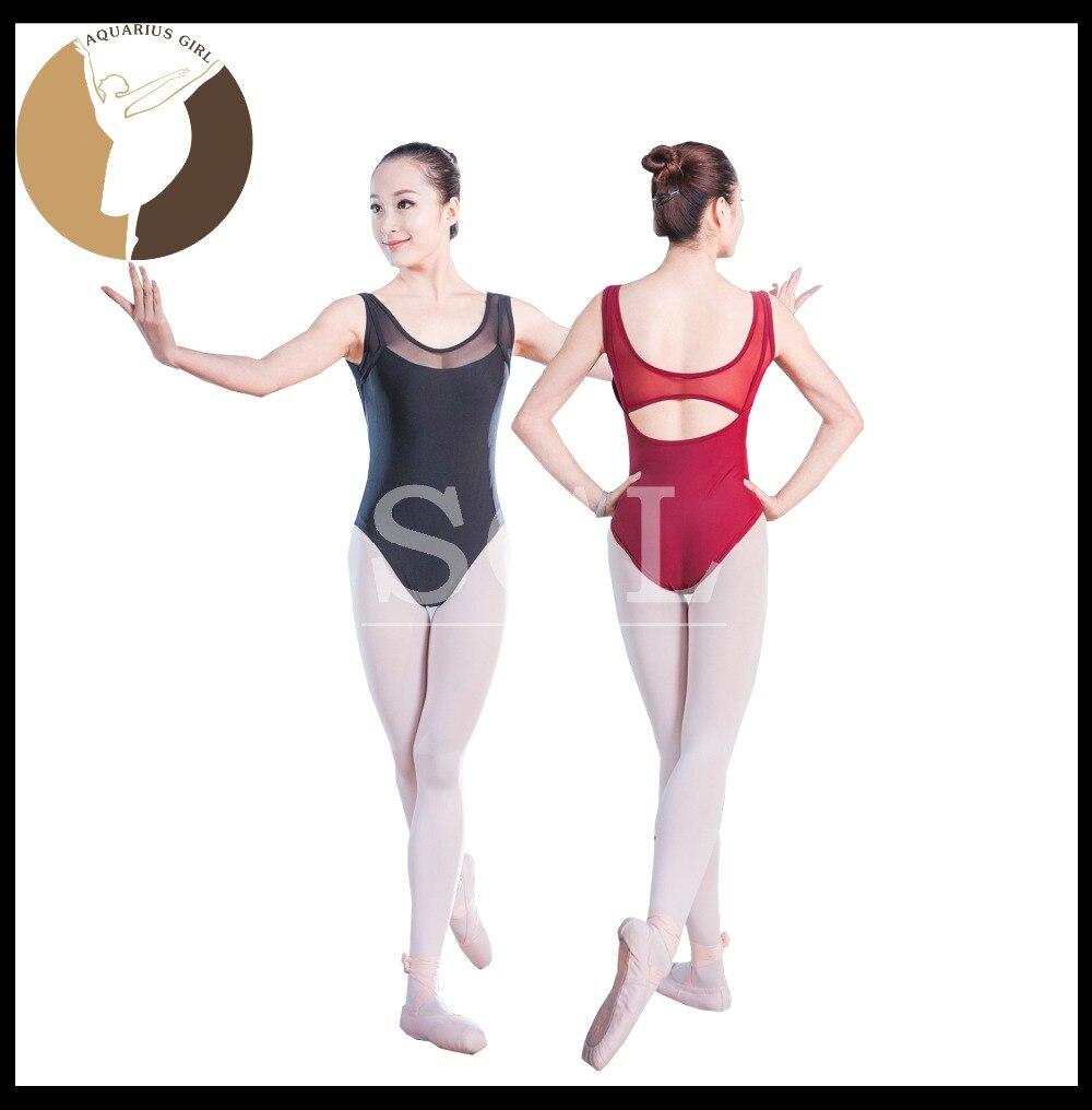5 unids/lote) adulto Ballet leotardo tanque Niñas con leotardos de ...