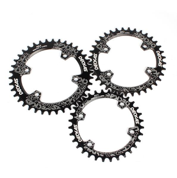 Deckas Round 96BCD Chainring MTB Mountain BCD 96 bike bicycle 32T 34T 36T 38T crankset Tooth plate Parts for M7000 M8000 M9000 in Bicycle Crank Chainwheel from Sports Entertainment