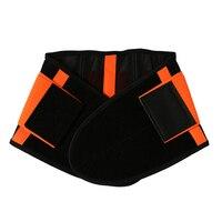 Fitness Support Training Belt Men And Women Lumbar Support Neoprene Waist Trimmer Belt S 2XL Neoprene