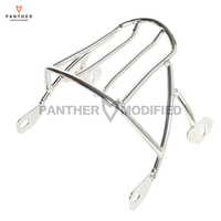 Chrome Motorcycle Solo Luggage Rack Case for Harley Sportster XL 1200 XL883 XL1200 Iron Seventy Two 883 2004 2017