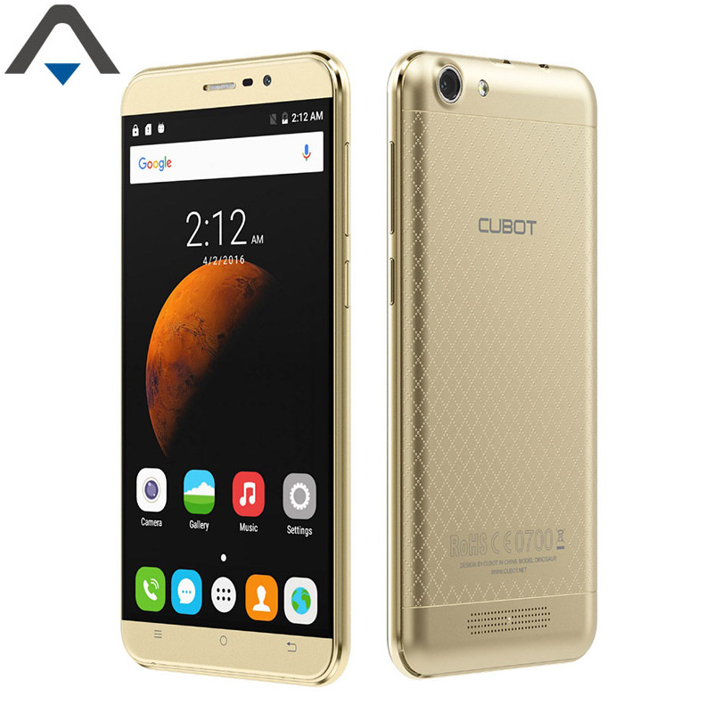 Original Cubot DINOSAUR Quad Core 3GB RAM 16GB ROM mobile Phone 1.3GHz 5 inch HD Smart phone 4150mAh long standby cell phone