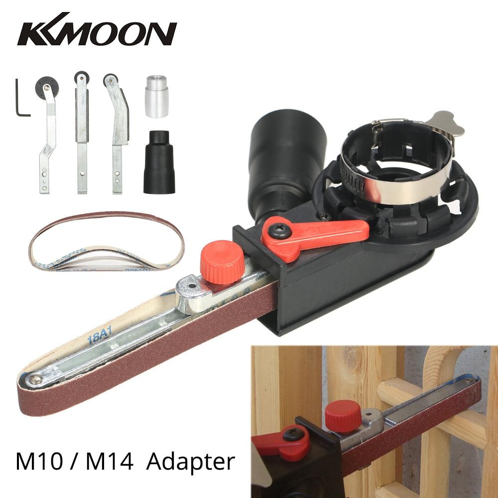 """Angle Grinder Mini DIY Sander Sanding Belt Adapter Bandfile Belt Head Sander For 115mm 4.5"""" And 125mm 5"""" Electric Angle Grinder(China)"""