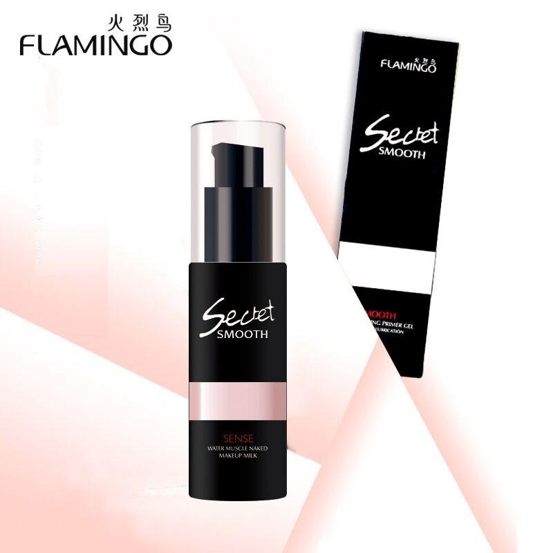 free shipping flamingo pre makeup transparent oil control foundation primer keep makeup long. Black Bedroom Furniture Sets. Home Design Ideas